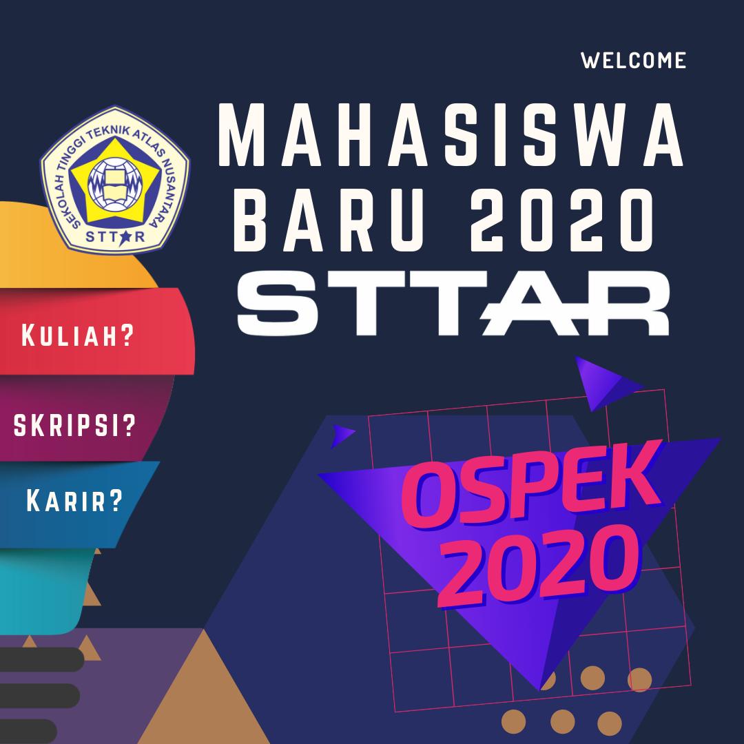 Pengumuman Kegiatan Orientasi Studi dan Pengenalan Kampus (OSPEK) Mahasiswa STTAR 2020/2021